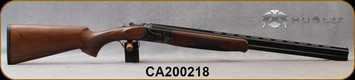 "Huglu - 20Ga/3""/26"" - 103DE - O/U w/Ejectors - Grade A Turkish Walnut w/Schnabel Forend/Case Coloured Receiver/Chrome-Lined Barrels, 5pc. mobile choke, SKU# 8681715394688, S/N CA200218"