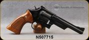 "Used - Smith & Wesson - 357CTG - 28-2 Highway Patrolman - 6-shot revolver - Walnut Grips/Blued Finish, 5 7/8""Barrel, Case Hardened Trigger"