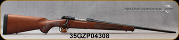 """Winchester - 243Win - Model 70 Featherweight - Satin Finish Walnut Stock w/Featherweight Checkering/Blued, 22""""Barrel, 5rd Capacity, Mfg# 535200212, S/N 35GZP04308"""