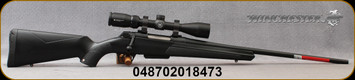 "Winchester - 350Legend - XPR Scope Combo - Bolt Action Rifle - Black Composite Stock/Matte Blued Perma-Cote, 22""Barrel, 4 round Detachable Magazine, Vortex Crossfire II 3-9x40 with BDC reticle, Mfg# 535705296"