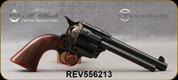 "Taylor's & Co- Uberti - 45LC - Model 1873 Short Stroke Runnin' Iron - Revolver - Walnut Grips/Case Hardened Frame/Blued, 5.5""Barrel, Mfg# 556213"