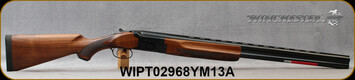 "Winchester - 12Ga/3""/28"" - Model 101 Deluxe Field - Over/Under Shotgun - Walnut Stock/Gloss Blued Finish, Vent Rib Barrel, 2 Rounds, Mfg# 513076392, S/N WIPT02968YM13A"