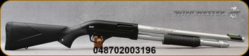 "Winchester - 12Ga/3""/18"" - Super X Marine Defender - Pump Action Shotgun - Black Synthetic Stock/Matte Hard Chrome Finish, 5 Round Capacity, Mfg# 512268395"
