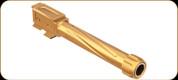 Rival Arms - Precision Drop-In Barrel - Glock 48 - 9mm - Gold PVD - RA20G802E