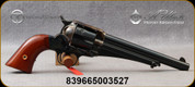 """Taylor's & Co - Uberti - 357Mag - 1875 Army Outlaw - Two-Piece Walnut Grips/Forged steel Case Hardened Frame/Forged Steel, 7.5"""" Barrel, Fluted Cylinder, """"webbed"""" ejector rod tube - Mfg# 0150"""