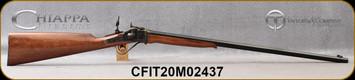 "Taylor's & Co - Chiappa - 22Hornet - Half Pint Sharps Rifle - Walnut Stock/Case Hardened Frame/Blued, 26""Octagonal Barrel, Creedmoor Peep Sight, Double Trigger, Mfg# 920.192, S/N CFIT20M02437"