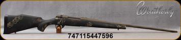 """Weatherby - 257WbyMag - Vanguard Talus - Bolt Action Rifle - Black Base Polymer Stock w/Tri-Color Sponge Pattern/Burnt Bronze Cerakote, 26""""Spiral Fluted & Threaded #2 Contour Barrel, Mfg# VTA257WR6T"""