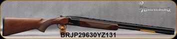 "Browning - 20Ga/3""/28"" - Citori Hunter Grade I - O/U - Satin finish Grade I American walnut stock/Gloss Finish Blued Metal w/Gold Enhancement on Receiver, Three flush choke tubes(F, M, IC), Silver Bead Front Sight, Mfg# 018258604, S/N BRJP29630YZ131"