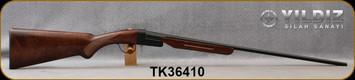 "Yildiz - 410Ga/3""/26"" - TK-36 - Break-Action Single Shot - Select Walnut/Alloy Receiver/Blued Finish, Brass Bead Front Sight"
