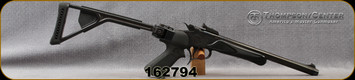 """Consign - Thompson Center - 44Mag - Contender - Choate Black Synthetic Folding Stock/Blued, 14"""" 'Super 14' Bull Barrel, c/w extra wood forend, Pachmayr Presentation Pistol Grip, Weaver Scope Base -"""