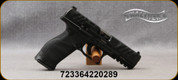 """Walther Arms - 9mm - PDP - Optic-Ready Full Sized Pistol - Polymer w/Performance Duty Textured Grips, (3) Backstraps/Black Finish, 4.5"""" Barrel, (2) 10rd Magazines, Mfg# 2858126"""