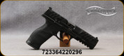 """Walther Arms - 9mm - PDP - Optic-Ready Full Sized Pistol - Polymer w/Performance Duty Textured Grips, (3) Backstraps/Black Finish, 5"""" Barrel, (2) 10rd Magazines, Mfg# 2858134"""
