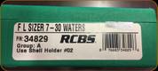 RCBS - Full Length Sizer Die - 7-30 Waters - 34829