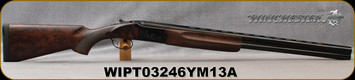 """Winchester - 12Ga/3""""/28"""" - Model 101 Ultimate Field Limited Edition - O/U - Upgraded Turkish Walnut/Brushed Polish Intricately Engraved Receiver/Blued Finish, (3)Invector-Plus Flush(F,M,IC) chokes, Mfg# 513073392, S/N WIPT03246YM13A"""