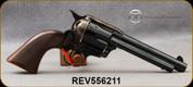 "Taylor's & Co- Uberti - 357Mag - Model 1873 Short Stroke Runnin' Iron - Revolver - Walnut Grips/Case Hardened Frame/Blued, 5.5""Barrel, Mfg# 556211"