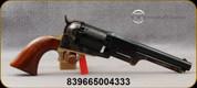 "Taylor's & Co - 44Cal - 2nd Model Dragoon - One-Piece Walnut Grip/Case Hardened forged steel frame/Roll Engraved Cylinder/brass backstrap & triggerguard/Blued, 7.5""Barrel, Mfg# 490A"
