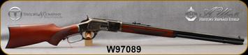"Cimarron - Uberti - 45LC - 1873 Deluxe Sporting Rifle - Lever Action - Walnut Stock/Case Hardened Frame & Lever/Blued Finish, 24""Octagonal Barrel, 12 Round Tubular Magazine, Mfg# CA277, S/N W97089"