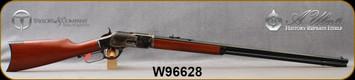 "Cimarron - Uberti - 44-40Win - 1873 Long Range Sporting Rifle - Lever Action - Walnut Stock/Case Hardened Frame/Blued, 30"" Octagon Barrel, 14 Round Tubular Magazine, Mfg# CA244, S/N W96628"
