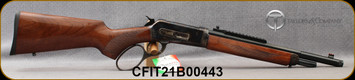 """Taylors & Co - Chiappa - 45-70Govt - 1886 TC86 Takedown - Large Loop Lever Action - Walnut Stock/Case Hardened Receiver/Matte Blued, 16.5""""Part Octagon, Threaded(5/8x24)Barrel, Picatinny Scout Rail, Skinner rear sight, Mfg# 920.423, S/N CFIT21B00443"""
