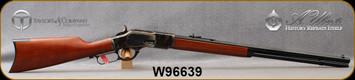 "Taylors & Co - Uberti - 44-40Win - Model 1873 Sporting Rifle - Lever Action - Grade A Walnut Straight-Grip Stock/Case Hardened Steel Frame & Lever/Blued, 24.25""Octagonal Barrel, Mfg# 200, S/N W96639"