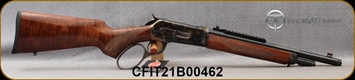 """Taylors & Co - Chiappa - 45-70Govt - 1886 TC86 Takedown - Large Loop Lever Action - Walnut Stock/Case Hardened Receiver/Matte Blued, 16.5""""Part Octagon, Threaded(5/8x24)Barrel, Picatinny Scout Rail, Skinner rear sight, Mfg# 920.423, S/N CFIT21B00462"""