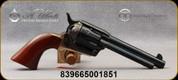 "Taylor's & Co - Uberti - 45LC - Ranch Hand - Single Action - 6-round Revolver - Walnut Grips/Case Hardened Finish/Brass Backstrap & Trigger Guard/Blued, 5.5"" Barrel, Mfg# 451"