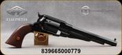 "Taylor's & Co - Pietta - 44Cal - 1858 Remington New Army - Black Powder Revolver - Checkered Walnut Grips/Brass Trigger Guard/Blued Finish, 8"" Barrel, Mfg# 331PIE"