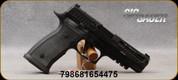 "Sig Sauer - 9mm - P320 AXG Pro - Striker-Fire Semi-Auto - AXG Grips/Black Nitron Finish, 4.7""Carbon Barrel, X-Ray3 Day/Night Sights, M1913 Accessory Rail, (2)10rd magazines, Mfg# 320AXGF-9-BXR3-PRO-R2"