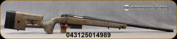 "Bergara - 6.5PRC - B-14 HMR (Hunting & Match Rifle) - Bolt Action Rifle - Adjustable HMR Synthetic Stock w/mini chassis/Blued, 24""Threaded(5/8x24) Barrel, 3 Round AICS Detachable Box Magazine, 1:8""Twist, Mfg# B14S359"
