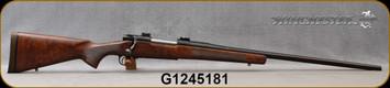 "Used - Winchester - 416RM - Model 70 - Grade AA Walnut Stock/Blued, 25""Barrel - Rebarreled to 416 Rem Mag"