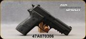 "Consign - Sig Sauer - 9mm - P226 Extreme - Hogue G10 Piranha Grips/Black Nitron Finish, 4.4""Barrel, night sights, c/w (2)magazines & original box - in Sig Sauer case"