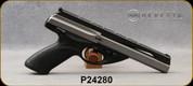 "Consign - Beretta - 22LR - Model U22 Neos - Black Modular Grips/Inox, 6""Barrel, 2 stainless magazines - In black DoskoSport case"