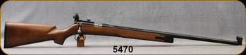 "Consign - BRNO - 22LR - Model 3 Target - Custom Walnut Stock/Blued, 27.5""Barrel, peep sights - made in 1956, c/w 10rd detachable magazine"
