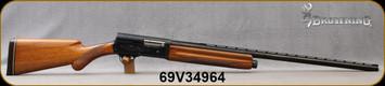 "Consign - Browning - 12Ga/3""Magnum/28"" - A5 Magnum - Semi-Auto Shotgun - Walnut Prince of Wales Grip Stock/Blued Finish, Vent-Rib Barrel"