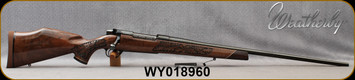 "Weatherby - 270WbyMag - Mark V Lazermark - Five-Panel Limited Edition - Select Claro Walnut w/Rosewood caps & Maple Spacers/High Lustre Blued, 26""Barrel, LXX Trigger, Mfg# MLMM270WR6O, S/N WY018960"