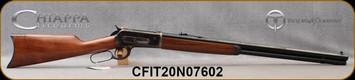 "Taylor's & Co - Chiappa - 45-70Govt - Model 1886 Lever Action Rifle - Walnut Stock/Case Hardened Receiver/Blued, 26"" Barrel, Mfg# 920.285, S/N CFIT20N07602"