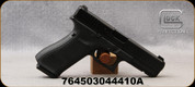 "Glock - 40S&W - Model 22 Gen5 - Black Polymer w/Spare backstraps/Black Finish, 4.5""Barrel, Night Sights, (3)10rd magazines, Mfg# UA225S701"