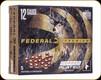 "Federal - 12 Ga 3.5"" - 18 Pellets - Shot 00 Buck - Premium - Copper Plated Buckshot - 5ct - P135F 00"