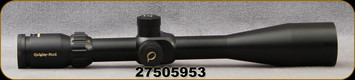 Consign - Quigley Ford Optics - 5SF - 5x20-50mm - 22-250, 55gr bullet, 3650 FPS, Etched Reticle, 30mm Tube - In original box - Never Hunted