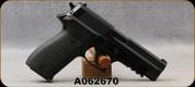 "Used - Norinco - 9mm - Model NP22 - SA/DA Semi-Auto - Black Polymer Grips/aluminium-alloy frame, 4.4""chrome lined barrel, integral picatinny rail - Very low rounds - In original case"