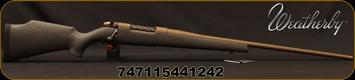 "Weatherby - 30-378WbyMag - Mark V Weathermark Bronze - Black Monte Carlo fiberglass stock w/Burnt Bronze spiderweb accents/Graphite Black Cerakote Bolt/Burnt Bronze Cerakote, 26""#3 Contour Barrel(28""w/Accubrake), Mfg# MWB01N303WR8B"