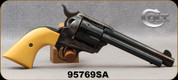 """Consign - Colt - 45LC - Single Action Army - Peacemaker - Synthetic Grips/Case Hardened Frame/Blued, 5.5""""Barrel, Manufactured in 1978 - Only 100 rounds fired"""