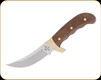 "Buck Knives - Kalinga - 2021 Legacy Collection - 4.75"" Blade - S35VN Steel - Brown Burlap Micarta Handle w/Brass Bolsters - 0401BRSLE-B"