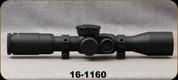 Consign - US Optics - ST-10MIL - 10x37 Digital Red FFP GAP Illuminated Reticle, Side Paralax 30mm Tube - 90 Click EREK Elevation Knob, US#1 Windage Knob, 30mm Alberta Tactical Rings - In original box