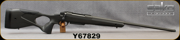 "Used - Sako - 6.5Creedmoor - Model S20 Hunter - Grey w/Black S20 Ergonomic Hunting Rifle Stock/Blued, CHF, 24""Threaded(5/8-24)Barrel, 1:8""Twist, 3rnd Detachable S20 Cartridge+ Magazine - only 300 rounds fired"