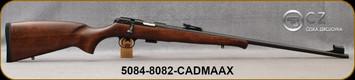 CZ - 22LR - Model 457 Training Rifle - Bolt Action Rimfire Rifle - Beechwwod Stock/Blued, 24.5''Cold Hammer Forged, Threaded Barrel, 5rd Detachable magazine, Tangent Sights, Mfg# 5084-8082-CADMAAX