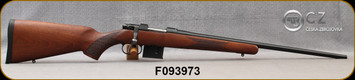 """CZ - 7.62x39 - Model 527 American - American-Style Turkish Walnut Stock/Blued, 21.875"""" Barrel, 5 Round Detachable Magazine, No Sights-Integrated 16mm Scope Base, Mfg# 5274-7305-MFAKABX - Box damaged in transport, but contents were untouched"""