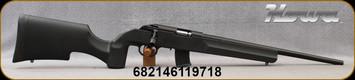 "Howa - 22LR - Model 1100 - Black Tactical/Varmint Style Synthetic Stock/Blued, 18""Threaded Barrel, Oversize Tactical Bolt Handle, (2)10rd Detachable Mags, Mfg# HRF22LRB"