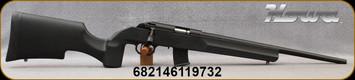 "Howa - 22WMR - Model 1100 - Black Tactical/Varmint Style Synthetic Stock/Blued, 18""Threaded Barrel, Oversize Tactical Bolt Handle, (2)10rd Detachable Mags, Mfg# HRF22WMRB"