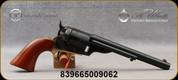 "Taylor's & Co - 45LC - Model 1872 Open Top Navy  - Single Action Revolver - Navy Size Walnut Grips/Case Hardened Frame & Hammer/Brass Trigger Guard & BackstrapEngraved Receiver,Blued Finish, 7.5""Barrel, Mfg# 0922"